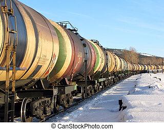 fűtőanyag, kiképez, olaj, szállít, tartály