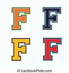 f, 대학, 편지