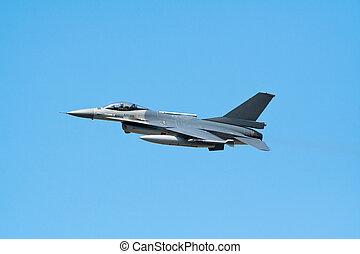F-16 fighterjet - F-16 fighter flyby