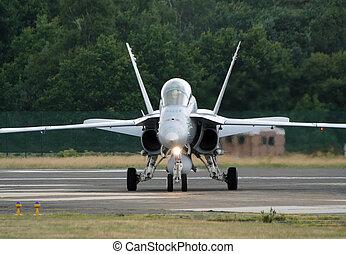 F-18 Swiss - KLEINE BROGEL; BELGIUM - JULY 20: Swiss Air...