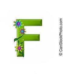 f, alfabeto, wonderland