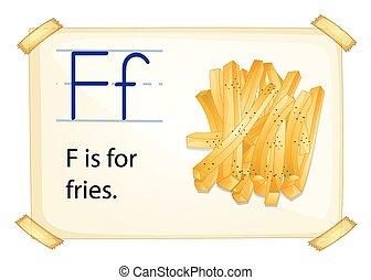 f letra