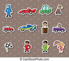 f1, biegi, majchry, wóz