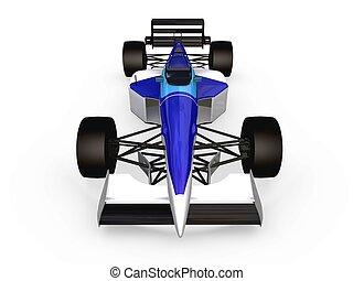 F1 blue car vol2