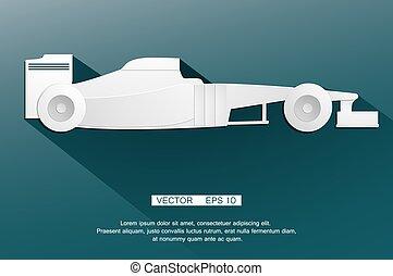 F1 formula automobile  racing car the world's fastest