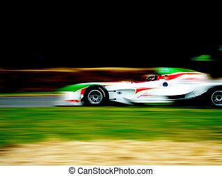 f1, het snelen auto