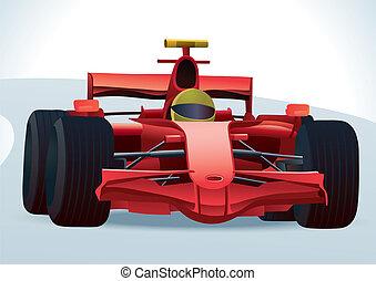f1, macchina da corsa
