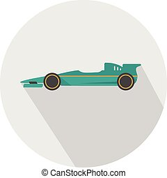 F1 Racing icon | Set of great flat icons for transportation, public transit, car and much more.