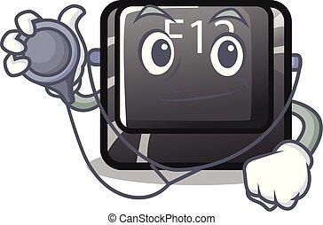 f12, κουμπί , πληκτρολόγιο , γουρλίτικο ζώο , γιατρός