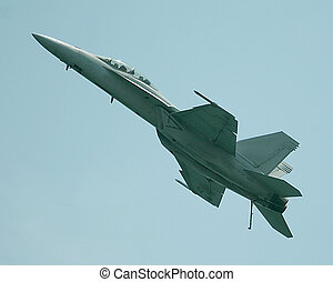 F15 Eagle in climb