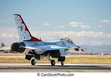 F16 fighter jet