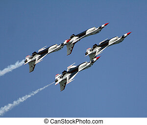 f16's, inverted, vlucht