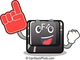 f4, botón, espuma, computadora, dedo, mascota