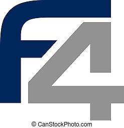 f4, carta, icono