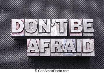 faça, ser, amedrontado, bm