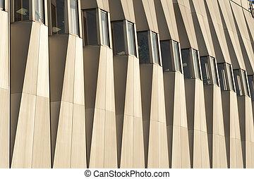 façade bâtiment, élément