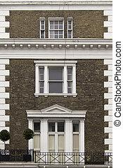 façade bâtiment, londres
