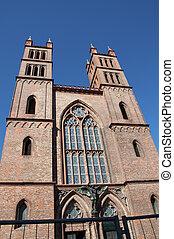 façade, cathédrale