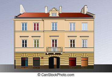 façade, clássico