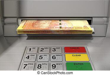 façade, distributeur billets banque, espèces,  withdrawel