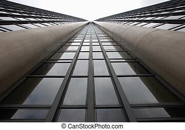 façade, gratte-ciel