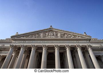 façade, nacional, arquivos