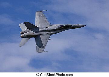 f/a-18, vuelo, avispón