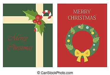 fa, vagy, szent, style., tehetség, köszöntések, lakás, karácsony, értékesítések, fényes, klaus, toys., köszönés, ads., koszorú, kártya, ábra, poszter, háló, buli