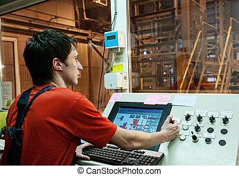 fabbrica, operatore