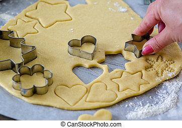 fabbricazione, biscotti pan zenzero