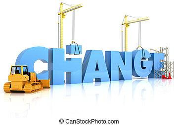 fabbricazione, cambiamento