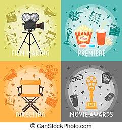 fabbricazione, concetto, premi, film