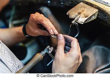 fabbricazione, gioielleria, gioielliere