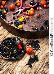fabbricazione, halloween, jewelery