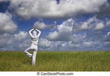 fabbricazione, yoga
