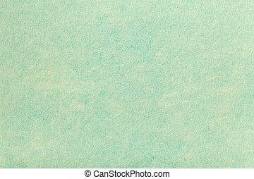 fabric., 毛織りである, トルコ石, ライト, フェルト, 手ざわり, 織物, 背景