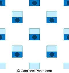 fabric., 白, 漫画, バックグラウンド。, 網, ベクトル, seamless, sharpener, 青, デザイン, 鉛筆, style., イラスト, 包むこと, パターン, ペーパー