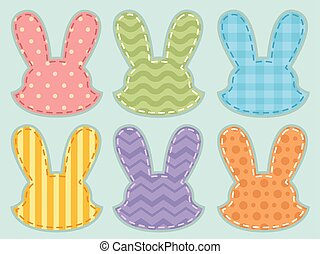Fabric Bunny Head Patterns