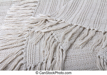 fabric colored in beige tones, textural background