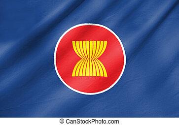 Fabric Flag of Asean Economic Community