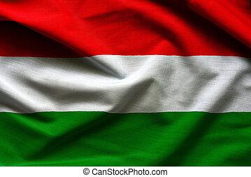 Fabric Flag of Hungary