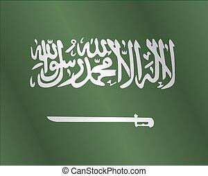 Fabric Flag of Saudi Arabia