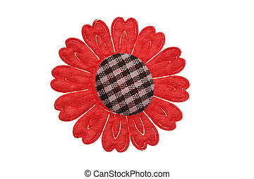 fabric flower for clothes
