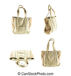 fabric hand bag