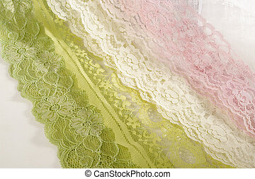 fabric on white background