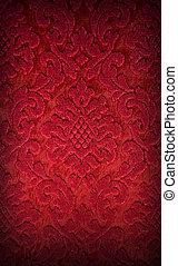 fabric, rød