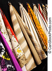 fabric samples for textil - samples of fabrics for the...