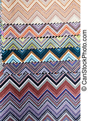 fabric samples for textil - various kinds of materials for...