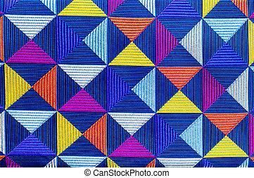 Fabric silk texture of dark blue, Navy