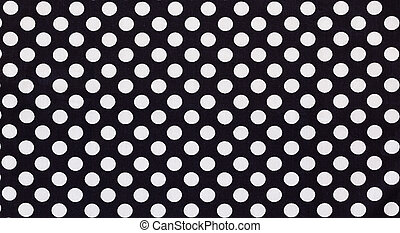 Fabric textile with dots pattern